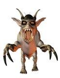 Aggressive evil creature Stock Photo