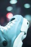 Aggressive inline free skates Royalty Free Stock Photos