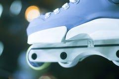 Aggressive inline free skates Stock Image
