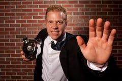 Aggressive investor Stock Photos