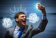 Aggressive management Stock Photography