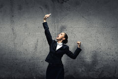 Aggressive management Royalty Free Stock Images