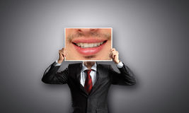 Aggressive manager Stock Images