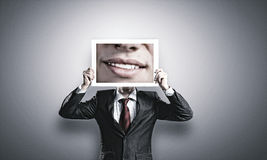 Aggressive manager Royalty Free Stock Images