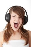Aggressive music Stock Images