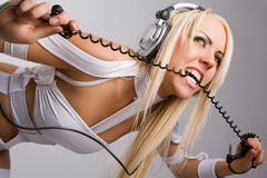 Aggressive music style Royalty Free Stock Images