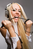 Aggressive music style Stock Photo