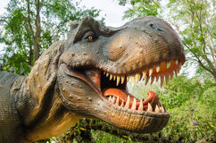 Aggressive T Rex. Royalty Free Stock Photography