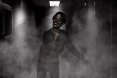 Aggressive Zombie Royalty Free Stock Photo