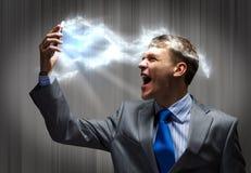 Aggressives Management Lizenzfreie Stockfotos