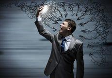 Aggressives Management Lizenzfreies Stockbild