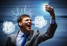 Aggressives Management Stockbilder