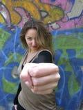 Aggressivo Fotografia Stock Libera da Diritti