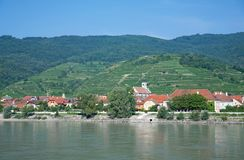 Aggsbach,Wachau Valley,Austria Royalty Free Stock Photography