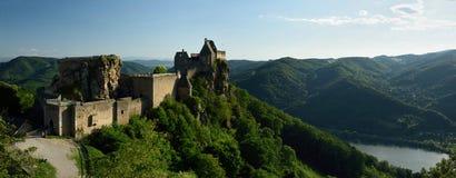 Aggstein Castle, Wachau, Αυστρία Στοκ φωτογραφίες με δικαίωμα ελεύθερης χρήσης