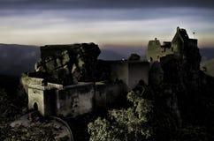 Aggstein-Schloss stockfotografie