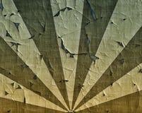 Aggsunburst på militära kamouflagefärger Royaltyfri Foto