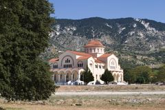 Agh Gerasimou Monistary, Kefalonia, September 2006 Royalty Free Stock Photo