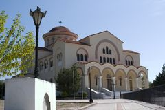 Agh Gerasimou Monistary, Kefalonia, septembre 2006 Image stock