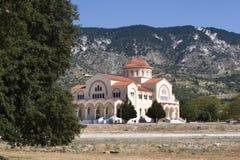 Agh Gerasimou Monistary, Kefalonia, septiembre de 2006 Foto de archivo libre de regalías