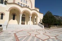 Agh Gerasimou Monistary, Kefalonia, septiembre de 2006 Fotos de archivo