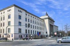 AGH uniwersytet nauka i technika - główny budynek, Krakow Fotografia Stock