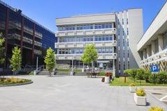 AGH uniwersytet nauka i technika Krakow, Polska Zdjęcie Stock