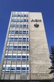 AGH uniwersytet nauka i technika, Krakow, Polska Campu Zdjęcia Royalty Free