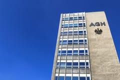 AGH uniwersytet nauka i technika, Krakow, Polska Campu Obrazy Royalty Free