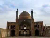 Agha Bozorg Madrasa i meczet, Kashan Iran Zdjęcia Royalty Free