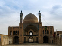 Agha Bozorg Madrasa and Mosque, Kashan Iran Royalty Free Stock Photos