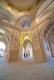 Agha Bozorg meczet w Kashan, Iran Obraz Royalty Free
