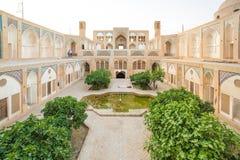 Agha Bozorg meczet w Kashan, Iran Zdjęcie Stock