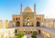 Agha Bozorg meczet w Kashan w Iran Obrazy Royalty Free
