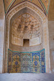 Agha Bozorg Mosque in Kashan, Iran Stock Image