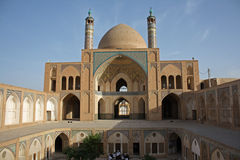 Agha Bozorgi school and mosque Stock Images