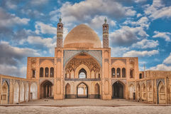 Agha Bozorgi school and mosque in Kashan Royalty Free Stock Photos