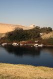 agha Khan grobowiec na odległość Zdjęcia Royalty Free