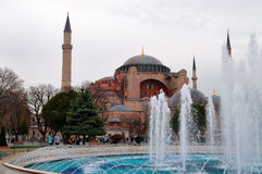 Aghia Sophia in Istanbul, Sultanahmet Square Royalty Free Stock Photos