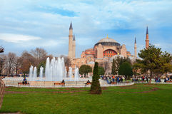 Aghia Sophia in Istanbul. Royalty Free Stock Photos