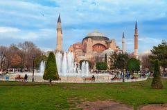 Aghia Sophia in Istanbul. Stock Photos
