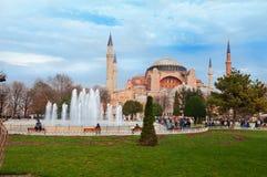 Aghia Sophia w Istanbuł Zdjęcia Royalty Free