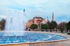 Aghia Sophia w Istanbuł, Sultanahmet kwadrat Obraz Royalty Free