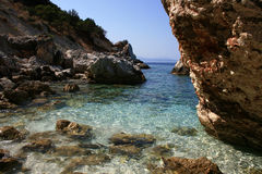 Aghiofili beach on Lefkada, Greece Stock Photos
