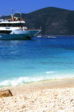 Aghiofili beach on Lefkada, Greece Stock Photo