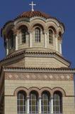 Aghios Nektarios monaster w Egine wyspie Zdjęcie Stock