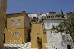 Aghios Nektarios monastery in Egine island Royalty Free Stock Images