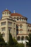 Aghios Nektarios monastery in Egine island Royalty Free Stock Image