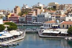Aghios Nikolaos Royalty Free Stock Image