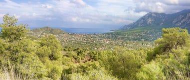 Aghios Sotiras Stock Photo